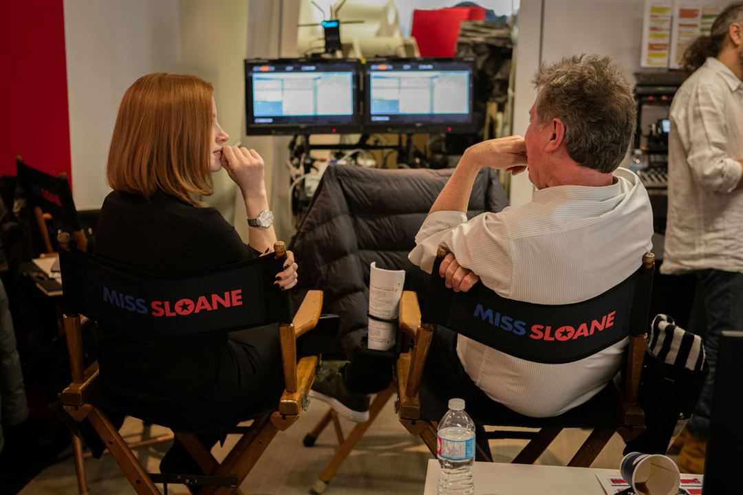 Miss Sloane : Photo Jessica Chastain, John Madden