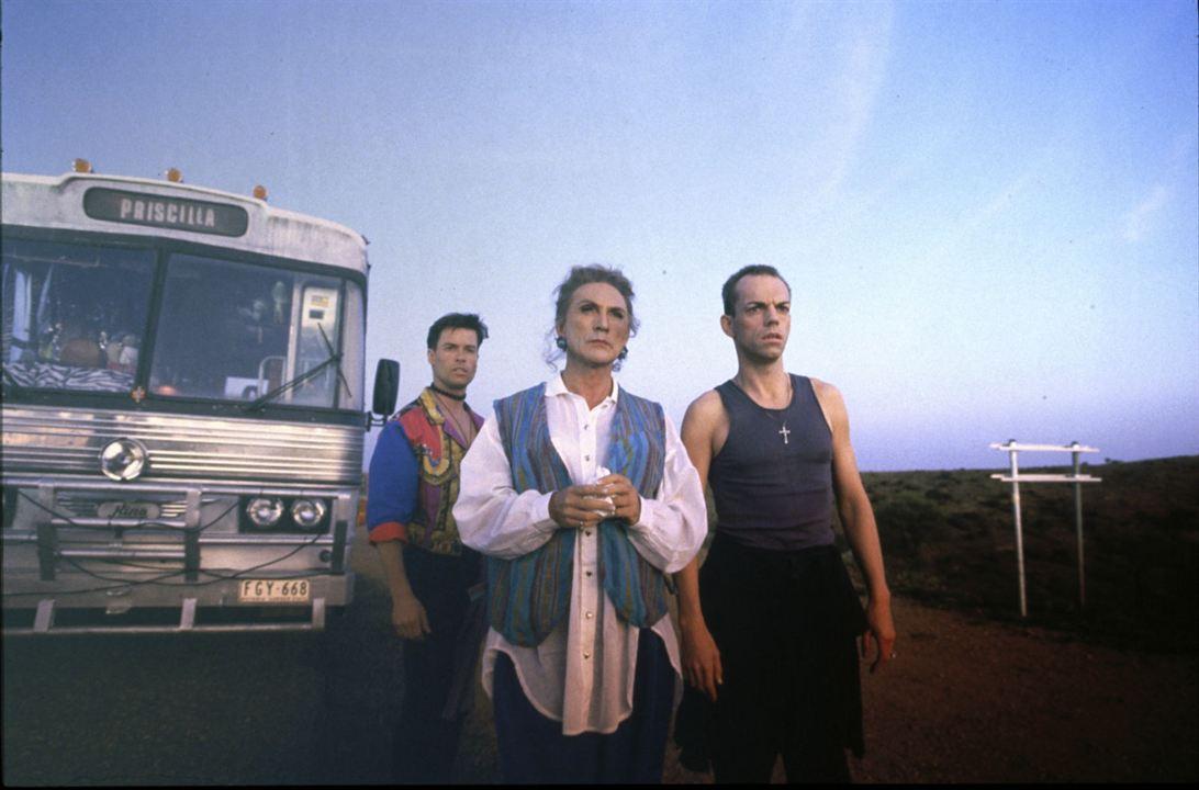 Priscilla, folle du désert : Photo Guy Pearce, Hugo Weaving, Terence Stamp