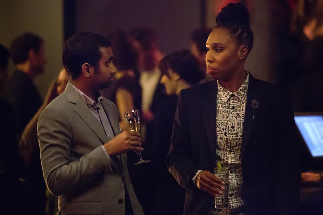 Photo Aziz Ansari, Lena Waithe