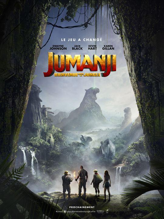 Jumanji : Bienvenue dans la jungle : Affiche