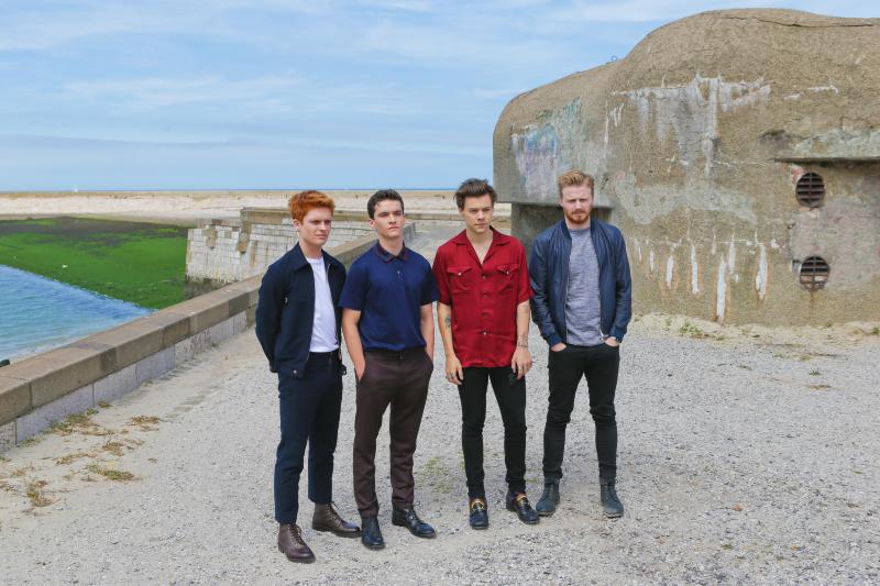 Dunkerque : Photo promotionnelle Fionn Whitehead, Harry Styles, Jack Lowden, Tom Glynn-Carney
