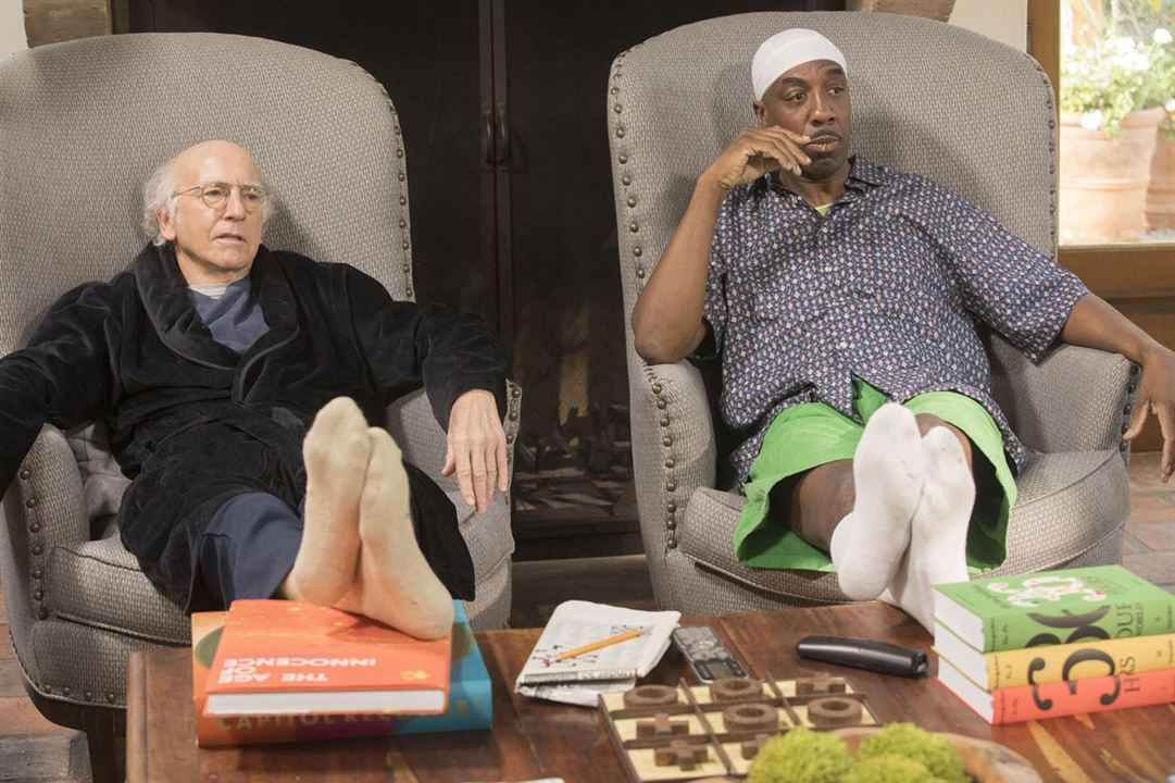 Photo J.B. Smoove, Larry David