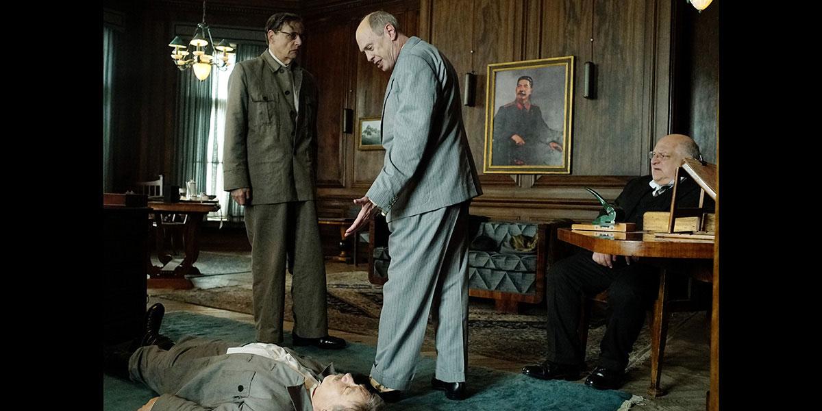 La Mort de Staline : Photo Adrian McLoughlin, Jeffrey Tambor, Simon Russell Beale, Steve Buscemi