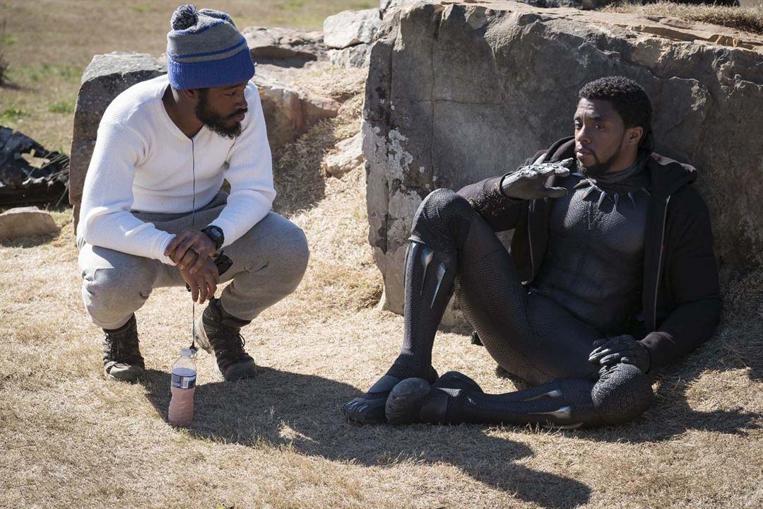 Black Panther : Photo Chadwick Boseman, Ryan Coogler