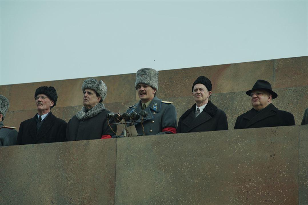 La Mort de Staline : Photo Jeffrey Tambor, Michael Palin, Rupert Friend, Simon Russell Beale, Steve Buscemi
