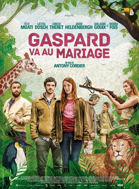 Gaspard va au mariage : Affiche