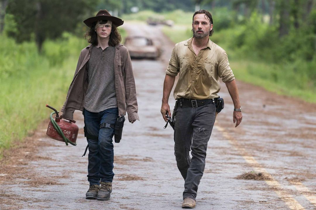 Affiche Andrew Lincoln, Chandler Riggs