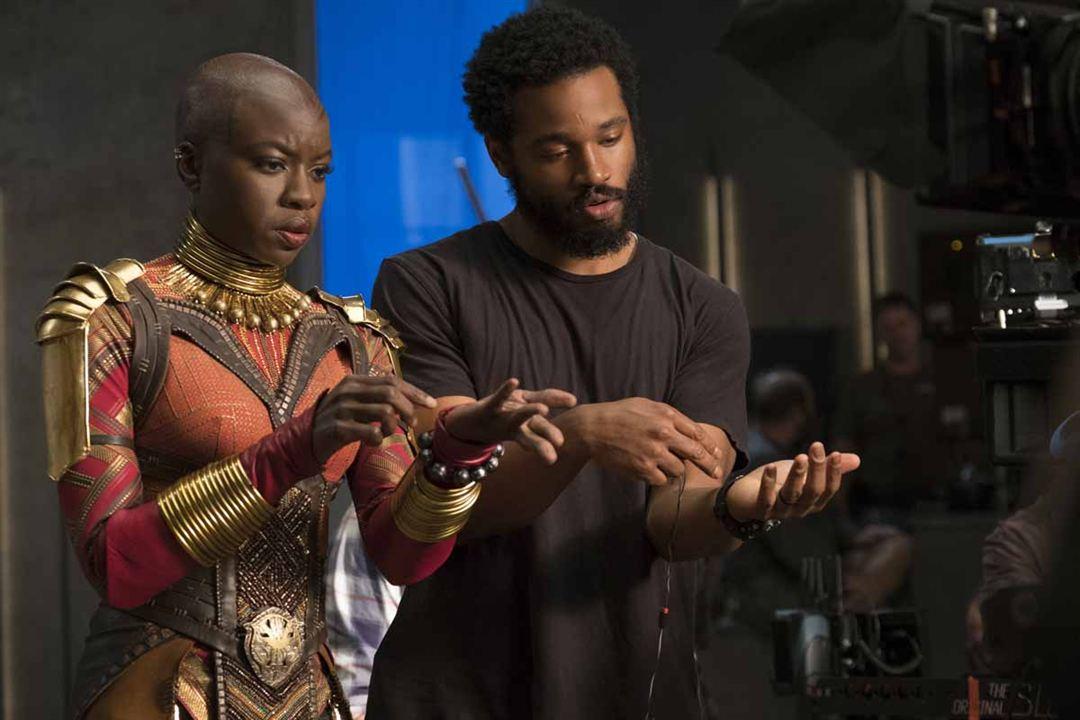 Black Panther : Photo Danai Gurira, Ryan Coogler