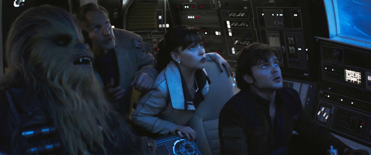 Solo: A Star Wars Story: Alden Ehrenreich, Woody Harrelson, Emilia Clarke, Joonas Suotamo