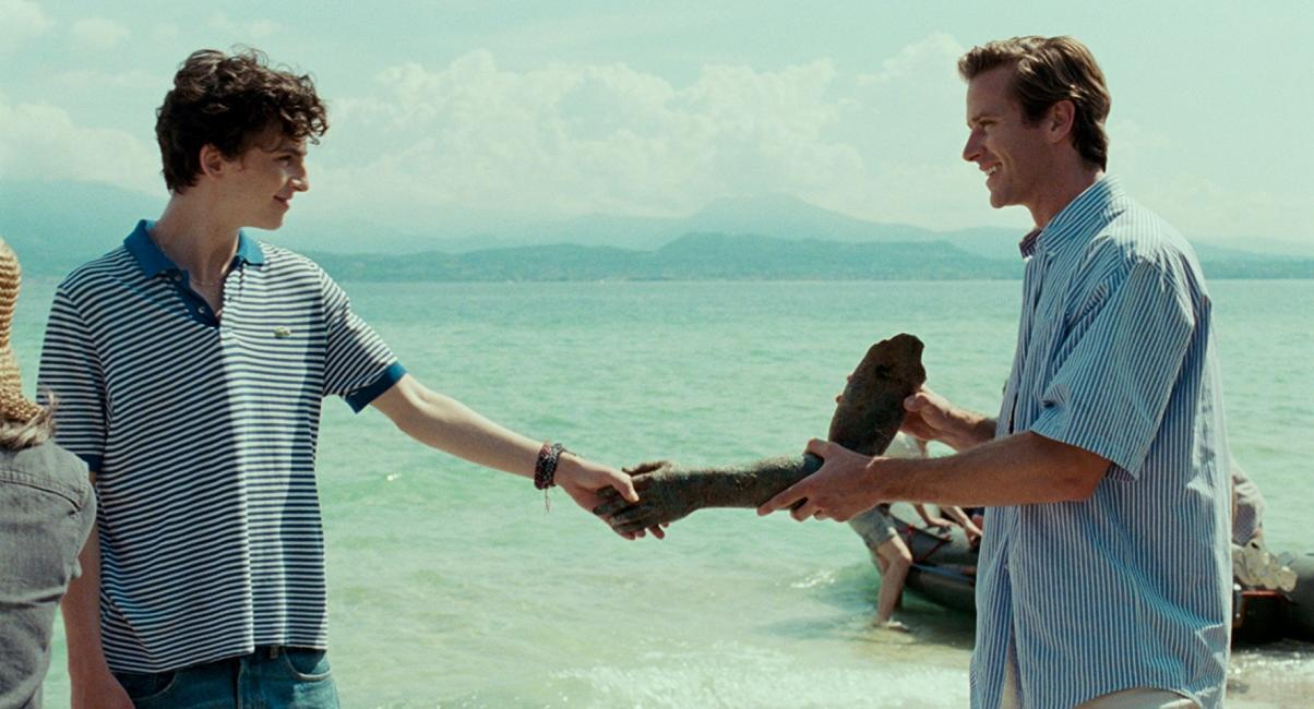 Call Me By Your Name: Armie Hammer, Timothée Chalamet
