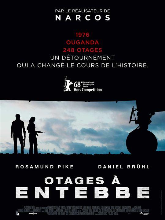 Otages à Entebbe : Affiche