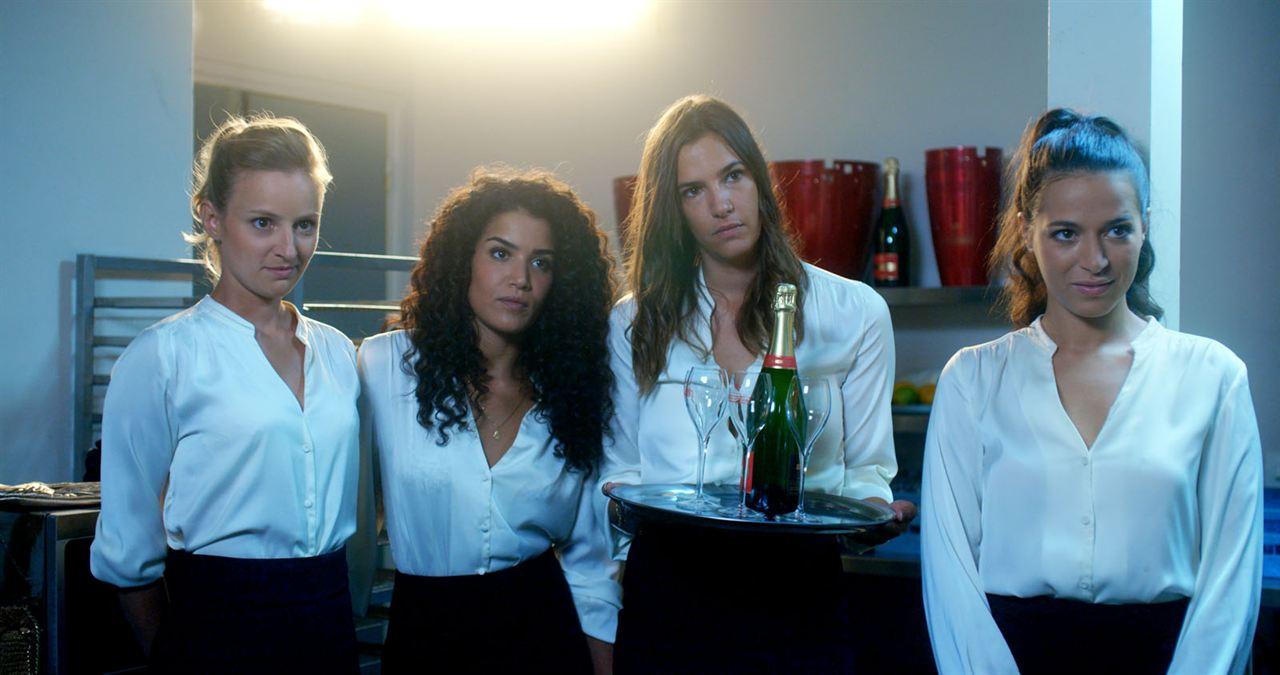 Demi-sœurs : Photo Alice David, Charlotte Gabris, Sabrina Ouazani, Tiphaine Daviot