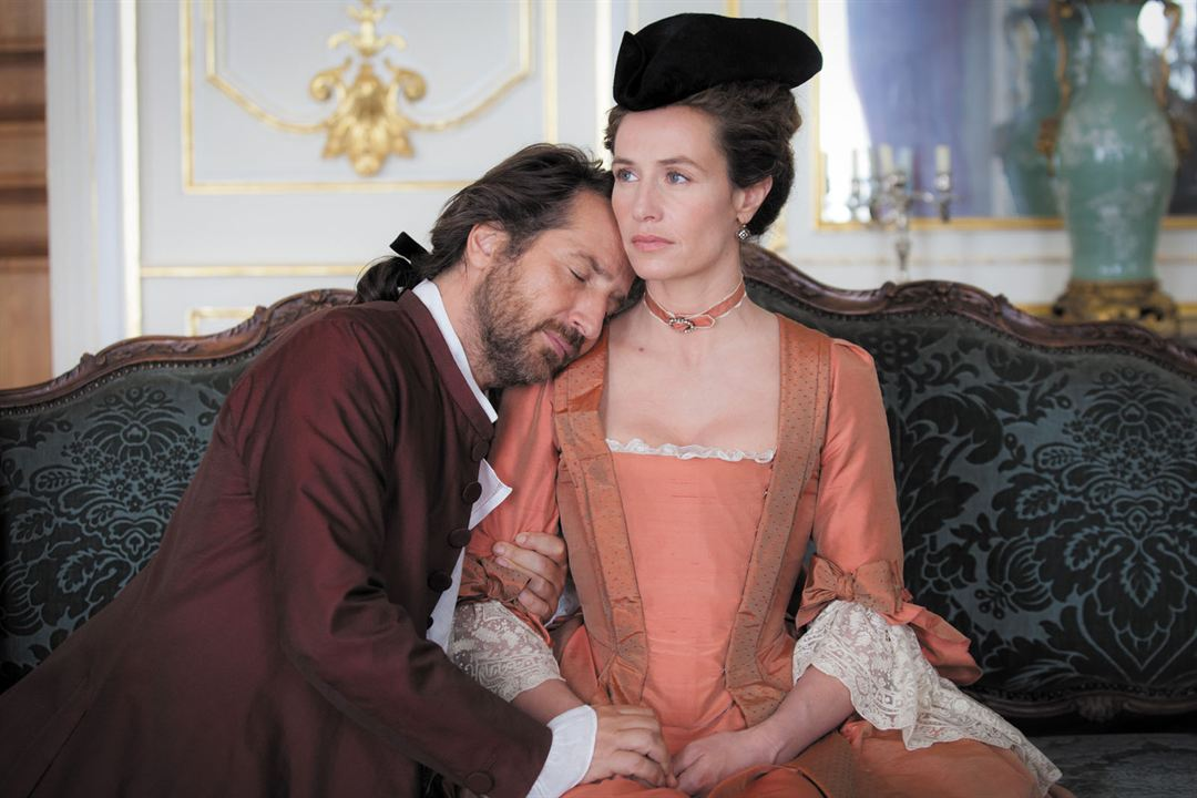 Mademoiselle de Joncquières: Edouard Baer, Cécile de France