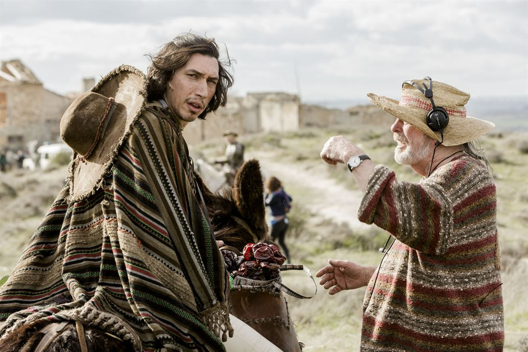 L'Homme qui tua Don Quichotte : Photo Adam Driver, Terry Gilliam