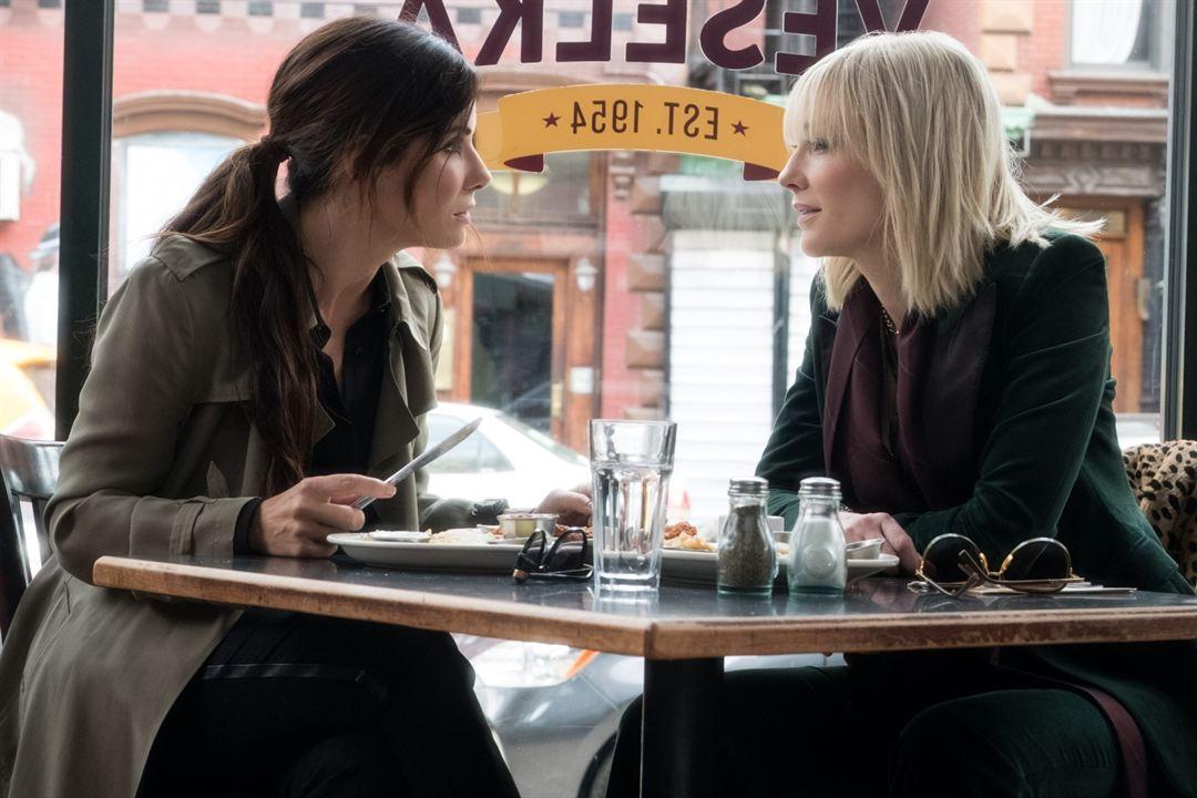 Ocean's 8: Cate Blanchett, Sandra Bullock