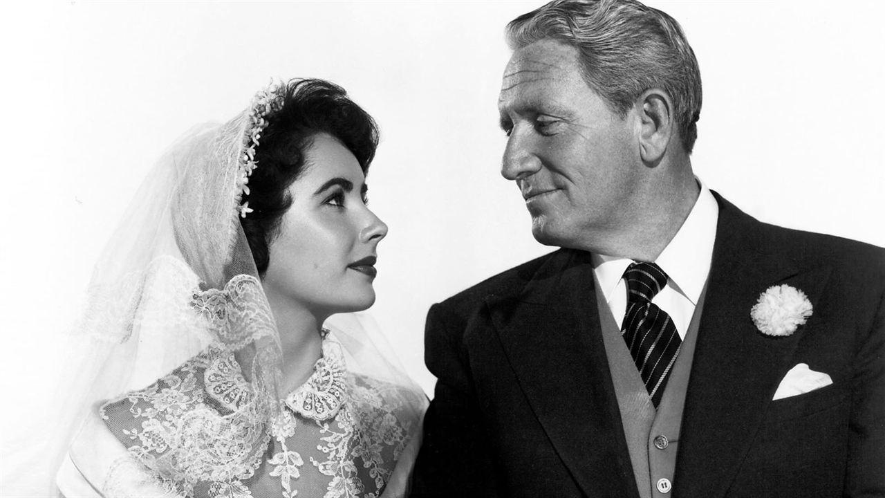 Le Père de la mariée: Elizabeth Taylor, Spencer Tracy