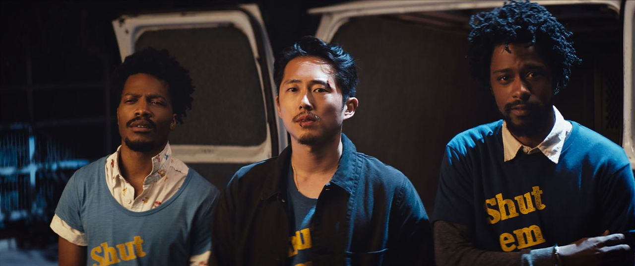 Sorry To Bother You : Photo Jermaine Fowler, Lakeith Stanfield, Steven Yeun