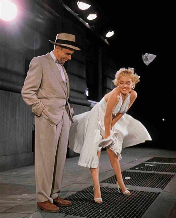 7 ans de réflexion : Photo Marilyn Monroe, Tom Ewell