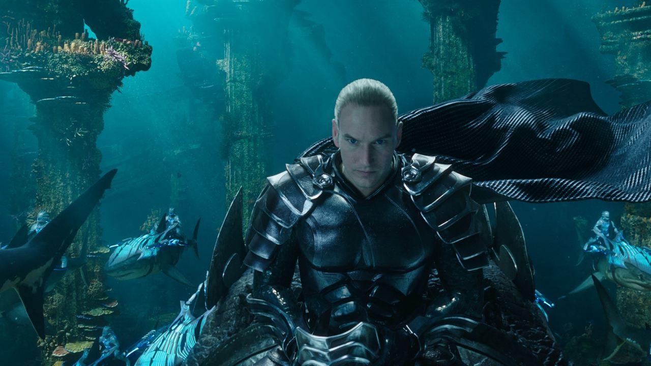 Aquaman : Photo Patrick Wilson