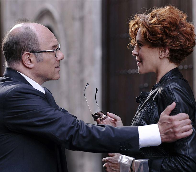 Photo Carlo Verdone, Lucrezia Lante Della Rovere