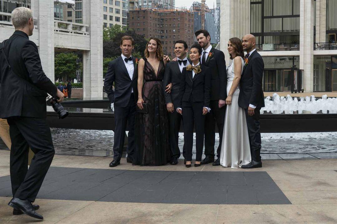 Photo Annie Parisse, Cobie Smulders, Fred Savage, Jae Suh Park, Keegan-Michael Key