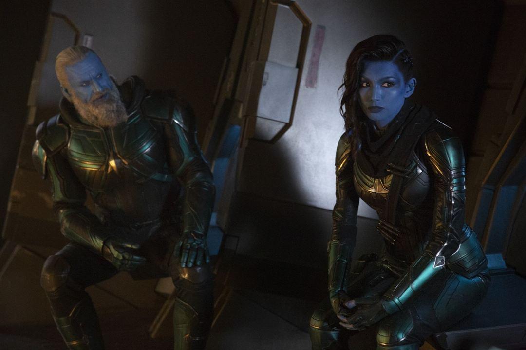 Captain Marvel : Photo Gemma Chan, Rune Temte