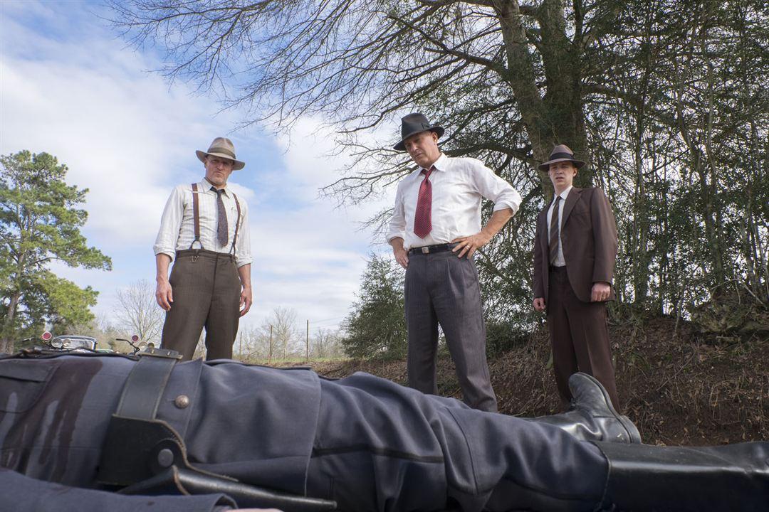 The Highwaymen: Kevin Costner, Woody Harrelson, Thomas Mann (II)