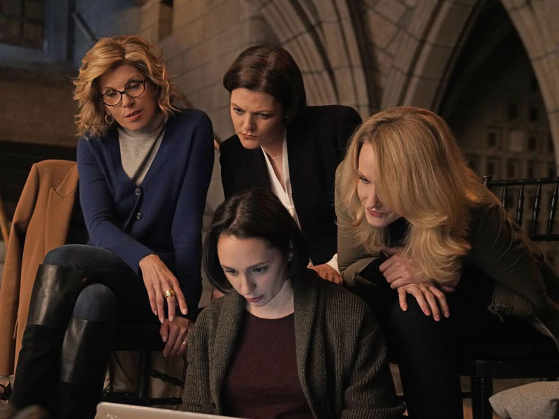 Photo Christine Baranski, Kate Shindle, Katie Finneran, Lauren Patten
