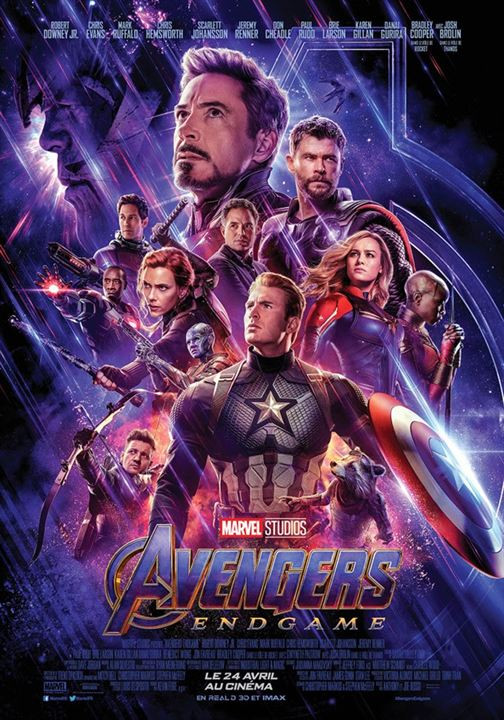 Avengers: Endgame : Affiche