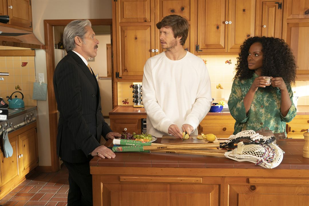 Photo Anders Holm, Gary Cole, Tika Sumpter