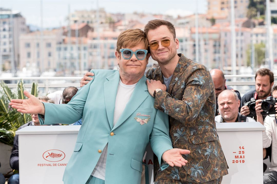 Rocketman : Photo promotionnelle Elton John, Taron Egerton