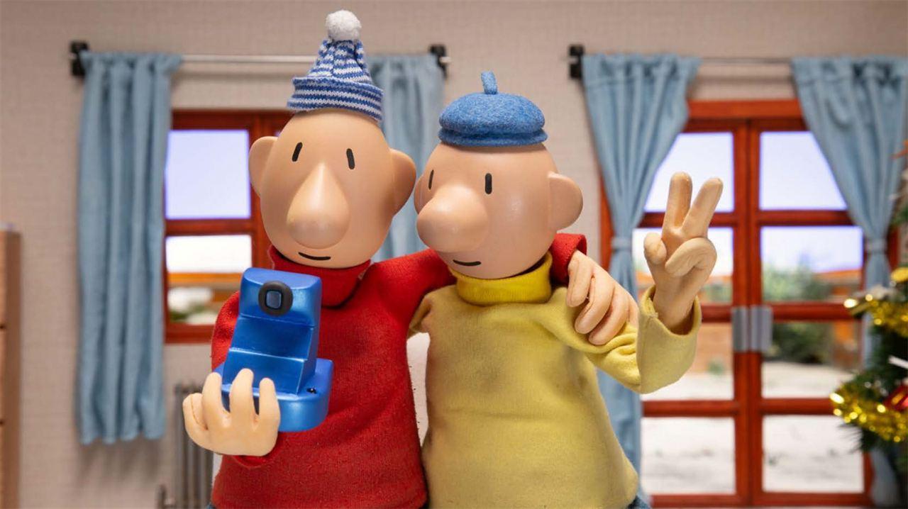Pat et Mat en hiver : Photo