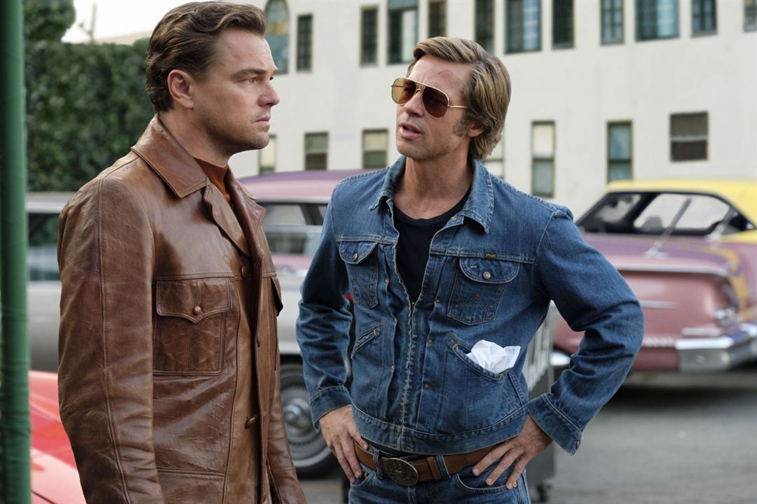 Once Upon a Time… in Hollywood : Photo Brad Pitt, Leonardo DiCaprio