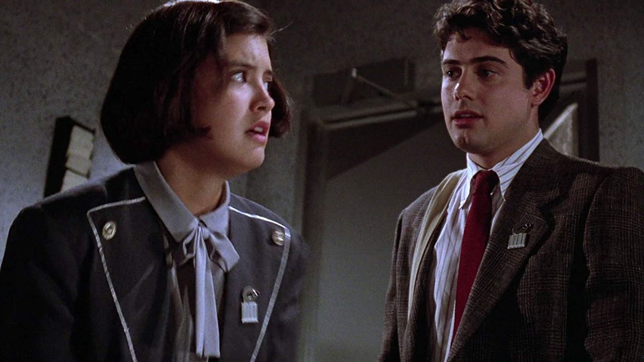 Gremlins 2, la nouvelle génération : Photo Phoebe Cates, Zach Galligan