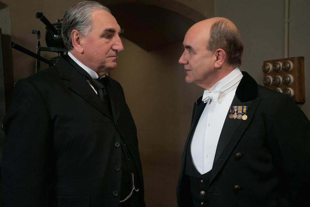 Downton Abbey : Photo David Haig, Jim Carter