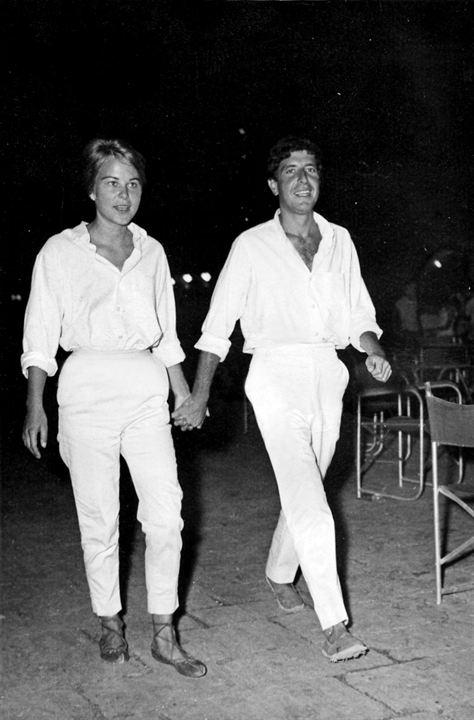 Marianne & Leonard: Words Of Love : Photo Leonard Cohen, Marianne Ihlen