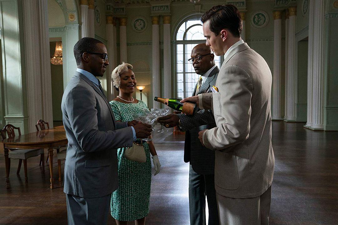 The Banker : Photo Anthony Mackie, Nia Long, Nicholas Hoult, Samuel L. Jackson