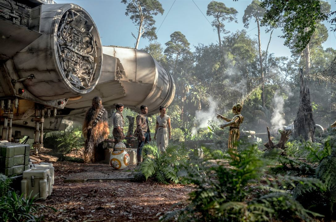 Star Wars: L'Ascension de Skywalker : Photo Anthony Daniels, Daisy Ridley, John Boyega, Oscar Isaac