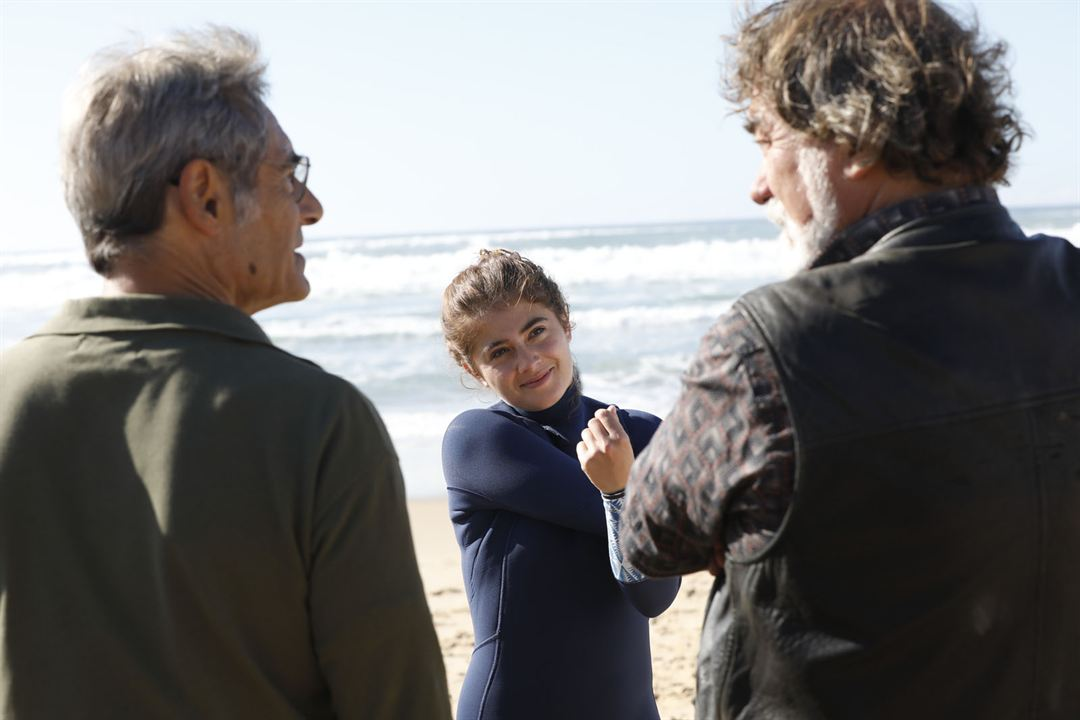 Papi-Sitter : Photo Camille Aguilar, Gérard Lanvin, Olivier Marchal