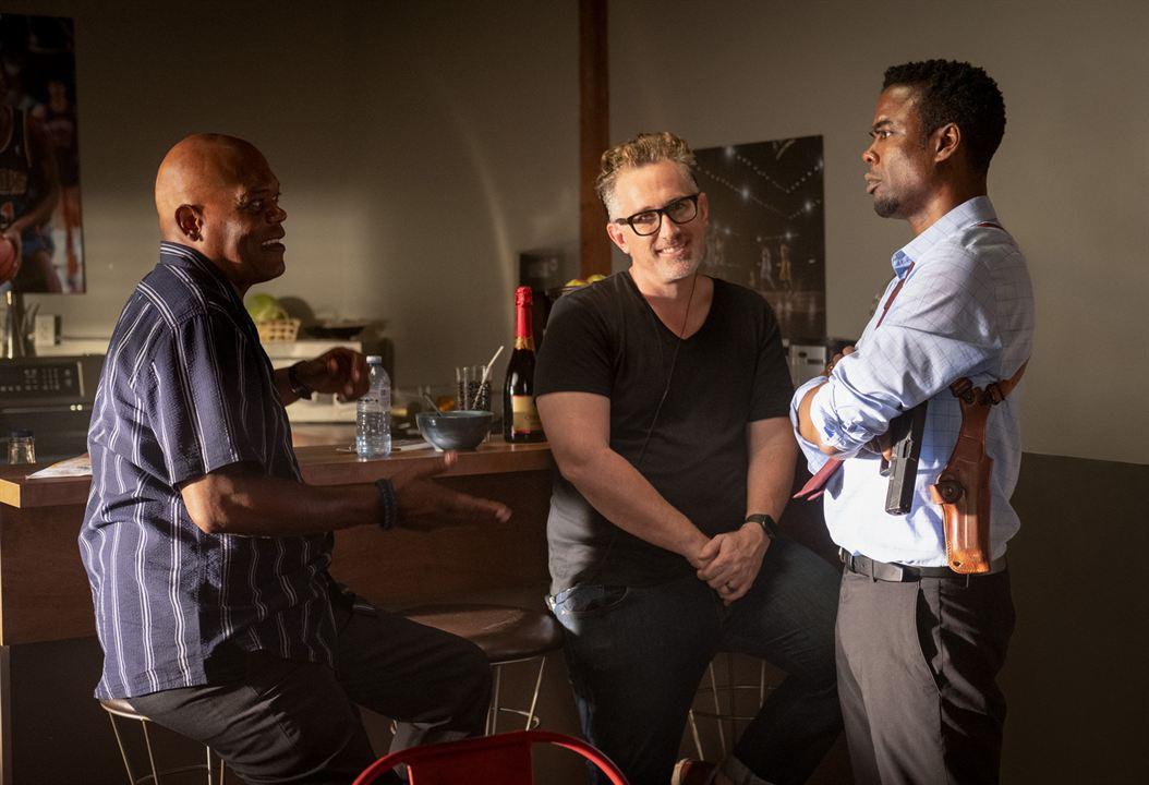 Spirale : L'Héritage de Saw : Photo Chris Rock, Darren Lynn Bousman, Samuel L. Jackson