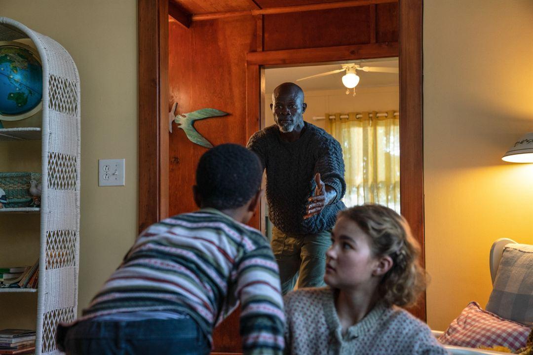 Sans un bruit 2 : Photo Djimon Hounsou, Millicent Simmonds