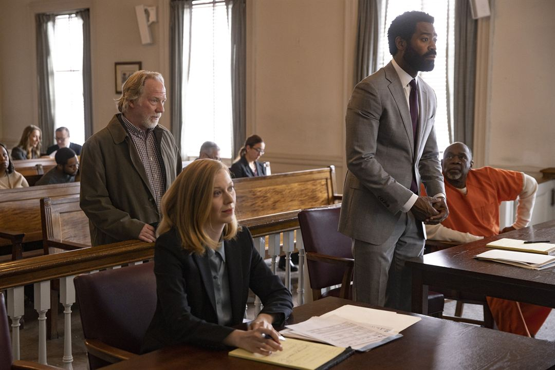 Photo Frances Eve, Nicholas Pinnock, Timothy Busfield