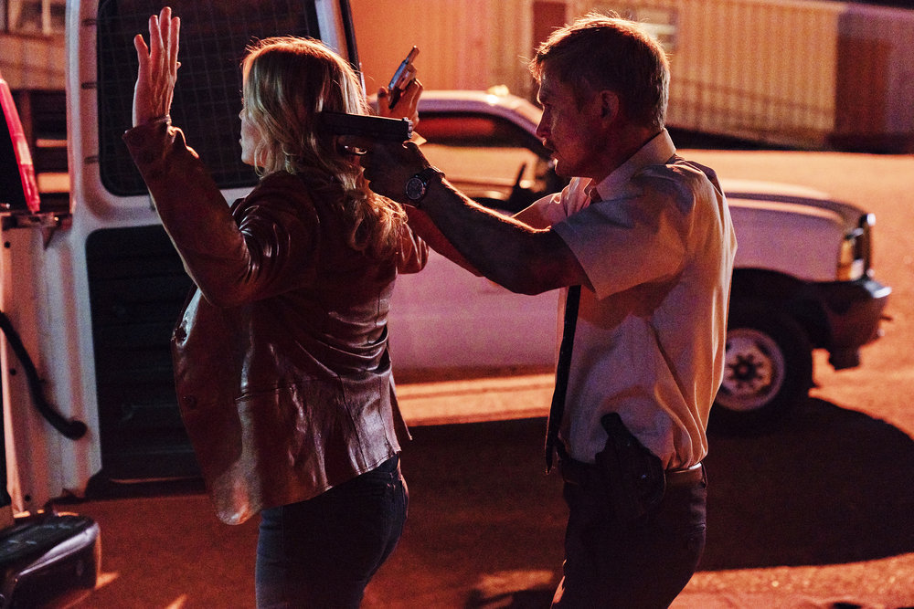 Photo Brian Geraghty, Kim Dickens
