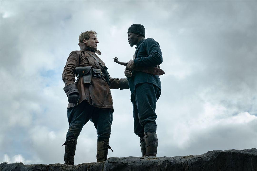 The King's Man : Première Mission : Photo Djimon Hounsou, Ralph Fiennes