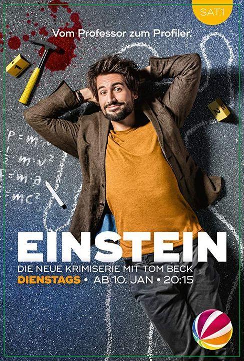 Einstein : Équations criminelles : Affiche