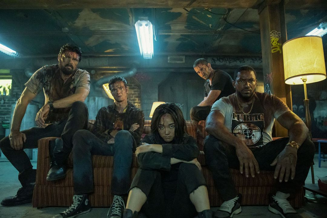 Photo Jack Quaid, Karen Fukuhara, Karl Urban, Laz Alonso, Tomer Capon