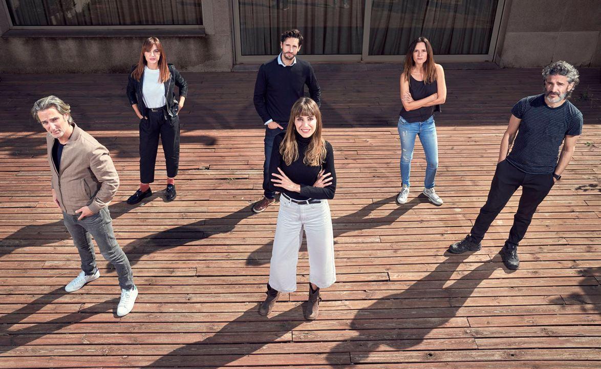 Photo Ernesto Alterio, Eva Santolaria, Irene Arcos, Juan Diego Botto, Leonardo Sbaraglia
