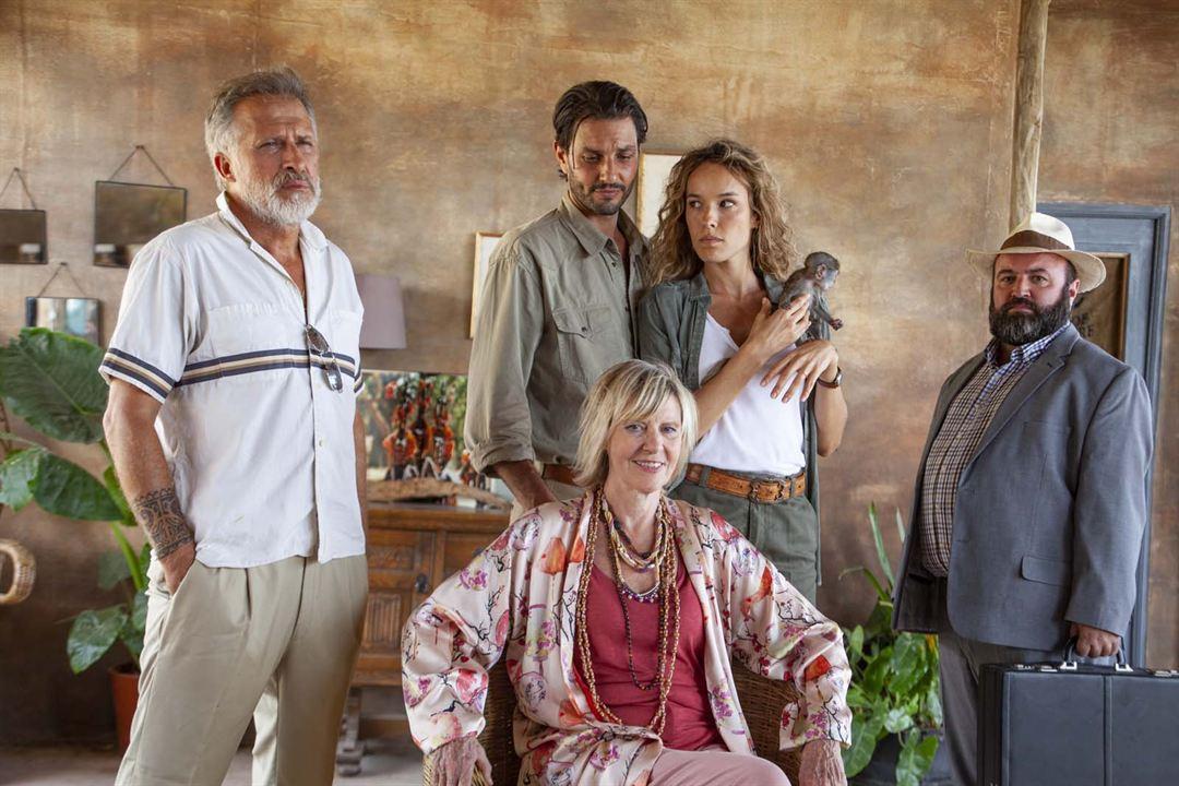 Photo Chantal Ladesou, Élodie Fontan, Marc Ruchmann
