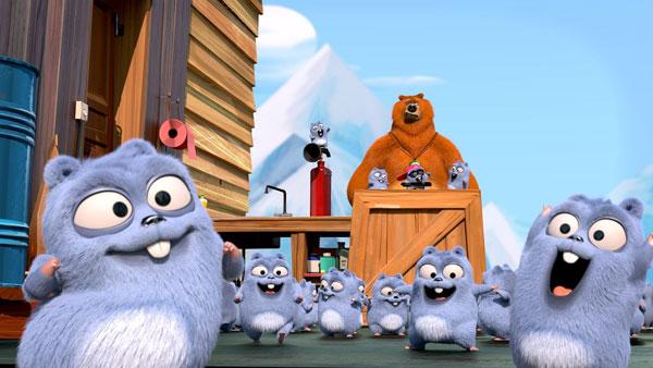 Grizzy et les lemmings : Photo