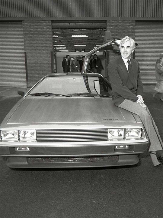 La Saga DeLorean : Destin d'un magnat de l'automobile : Affiche